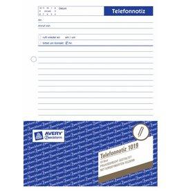 Avery Zweckform Telefonnotizbuch DIN A5