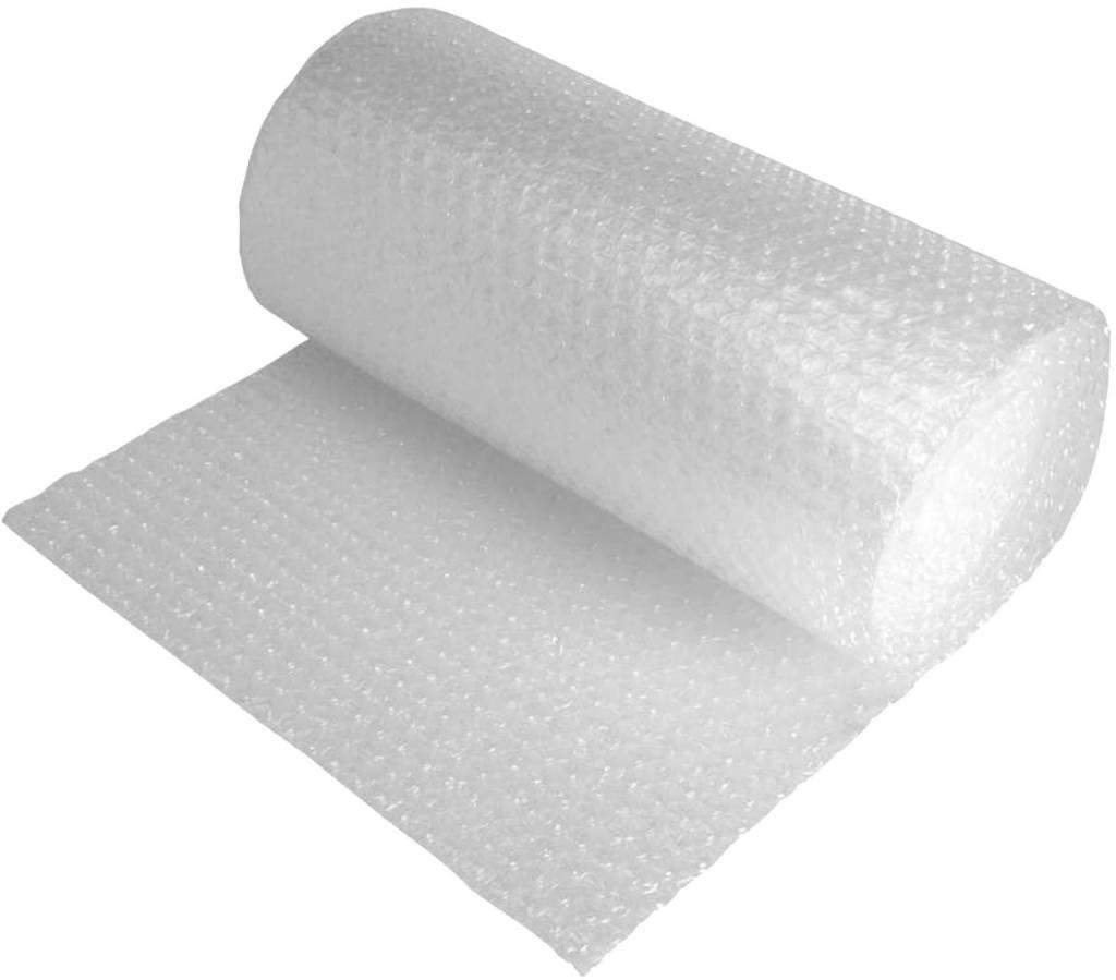 Luftpolsterfolie, Farbe: Transparent, 100 cm x 75 m (B x L)