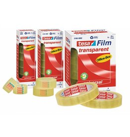 tesa Klebefilm tesafilm Office-Box 19 mm x 66 m (B x L) 8 Rl./Pack.