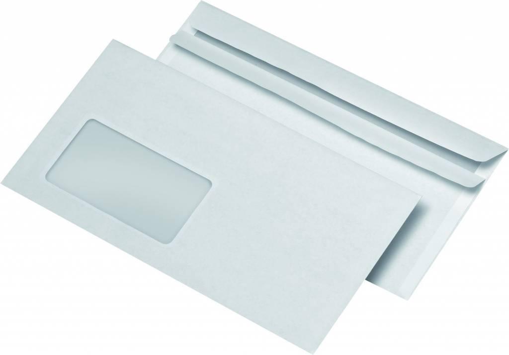 Briefumschläge 100 St./Pack. mit Fenster 220 x 110 mm