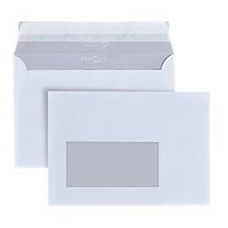 Briefumschläge 1000 St./Pack. DIN C6 mit Fenster 162 x 114 mm