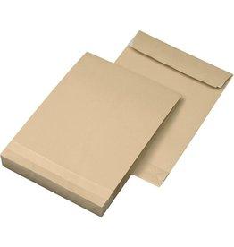 Faltentaschen DIN C4, Farbe: braun 50 St./Pack. 130 g/m²