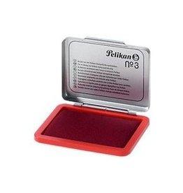 Pelikan Stempelkissen Metallgehäuse Farbe: rot 11 x 7 cm (B x H)