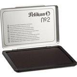 Pelikan Stempelkissen Metallgehäuse Farbe: schwarz 11 x 7 cm (B x H)