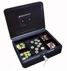 Wedo Geldkassette schwarz 30 x 9 x 24 cm (B x H x T)