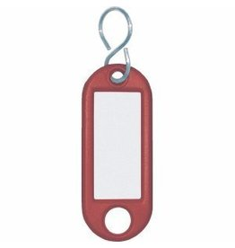 Wedo Schlüsselanhänger rot 10 St./Pack.