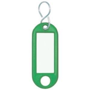 Wedo Schlüsselanhänger grün 10 St./Pack.