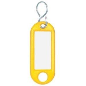 Wedo Schlüsselanhänger gelb 10 St./Pack.