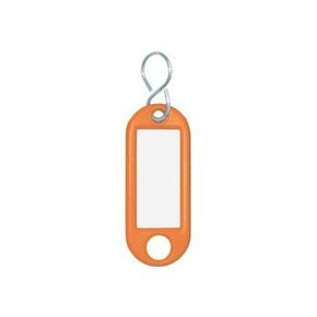 Wedo Schlüsselanhänger orange 10 St./Pack.