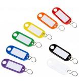 Wedo Schlüsselanhänger farbig sortiert 100 St./Pack.