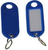 Wedo Schlüsselanhänger blau 10 St./Pack.