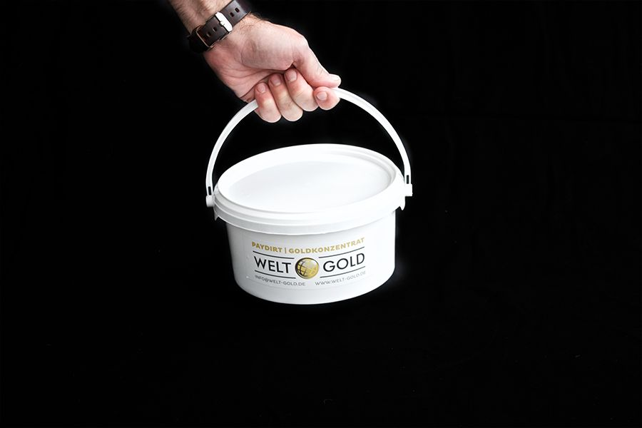 Welt-Gold Goudzand PAYDIRT 1 Kilo (met 0,15 gram goud)