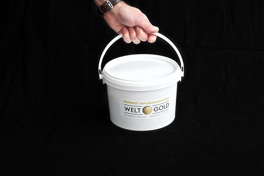 Welt-Gold Goudzand PAYDIRT 2,5 Kilo (met 0,50 gram goud)