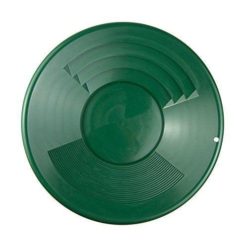 """SE SE Goudpan 12"""" 2 riffelsoorten 30cm groen"""
