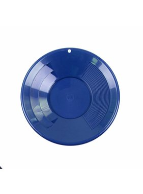 "SE SE Goudpan 8"" 2 riffelsoorten 20cm blauw"