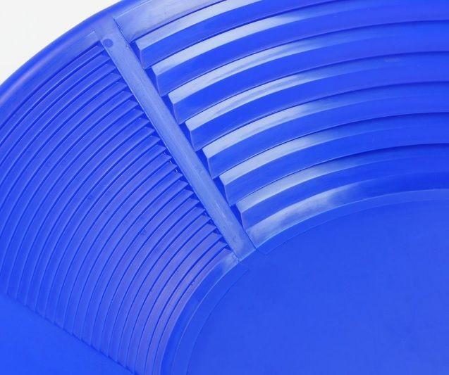 NEW PIONEER New Pioneer Goudpan 14'' 2 riffelsoorten 35,5cm blauw