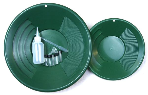 SE Goudpannen Set - groen - 11 delig