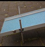 Pan4Gold Sluisbox / Highbanker voetklemstuk leg kit 4 stuks