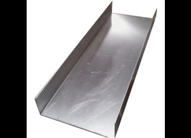Sluisbox /Highbanker aluminium goot  DIY diverse maten+Bouwpakket