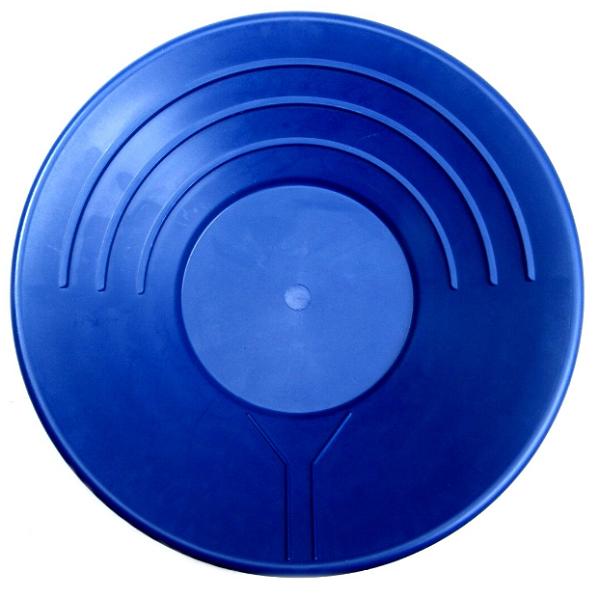 "SONA Sona goudpan 14"" - 35cm blauw"