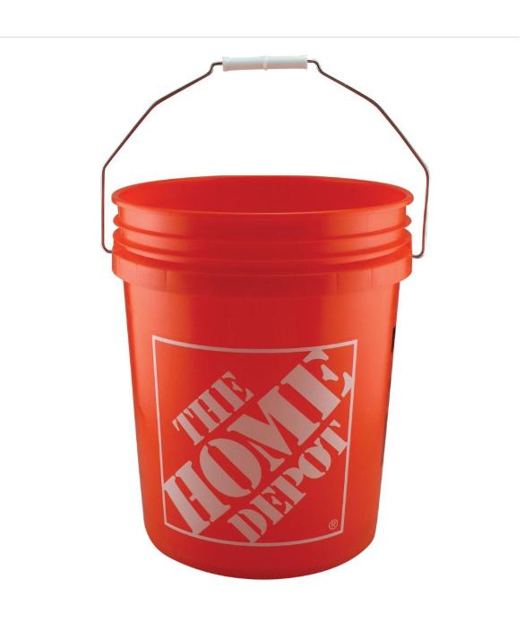 Amerikaanse 20 Liter emmer passend voor zeven (classifier)