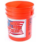 Amerikaanse 19 Liter-5 gallon emmer passend voor zeven (classifier)