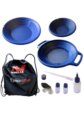 Minelab Minelab Pro Gold goudpannen set
