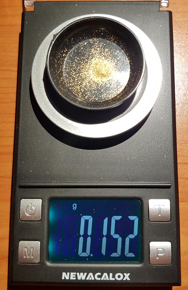 Pan4Gold Goudzand PAYDIRT 1 Kilo (met 0,15 gram goud)