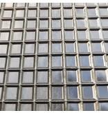 Rubber riffelmat vierkant motief  30x20 of 30x25cm