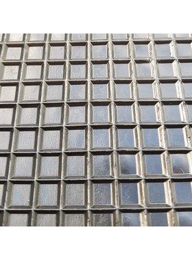 Rubber riffelmat vierkant motief  vanaf