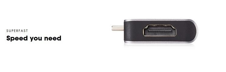 Pepper Jobs TCH-MBP7 USB-C hub-adapter