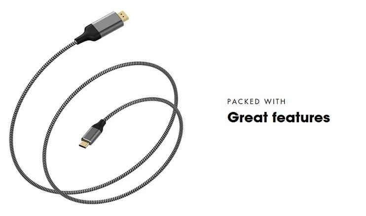 Pepper Jobs C2DP18M USB-C Kabel HDMI
