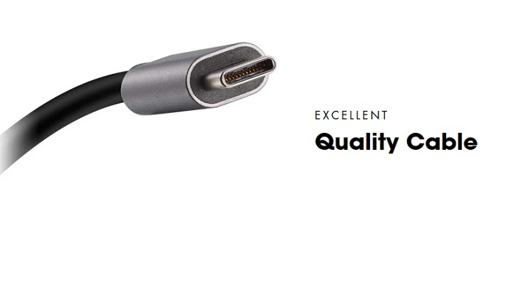 Pepper Jobs A2C1M USB-A to USB-C cable