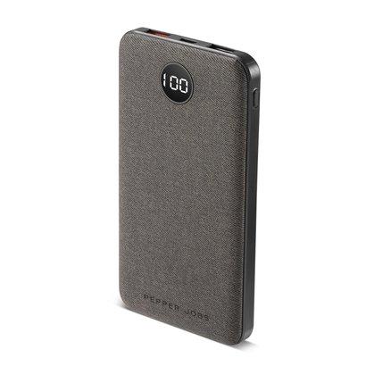 PEPPER JOBS PD18W10P è un power bank di ultima generazione (10.000 mAh) dotato di porta ingresso/uscita USB-C PD.