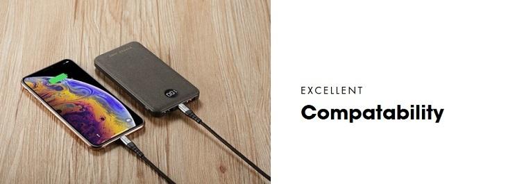 PD18W10P di Pepper Jobs  è un power bank di ultima generazione dotato di porta ingresso/uscita USB-C PD.
