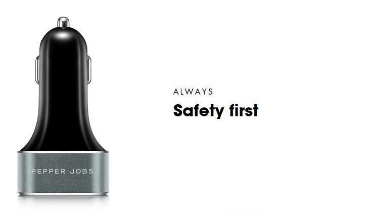 PDQC63W is the next generation car charger that comes with both Power Delivery (45W) charging port and a certified QC 3.0 (18W) charging port.