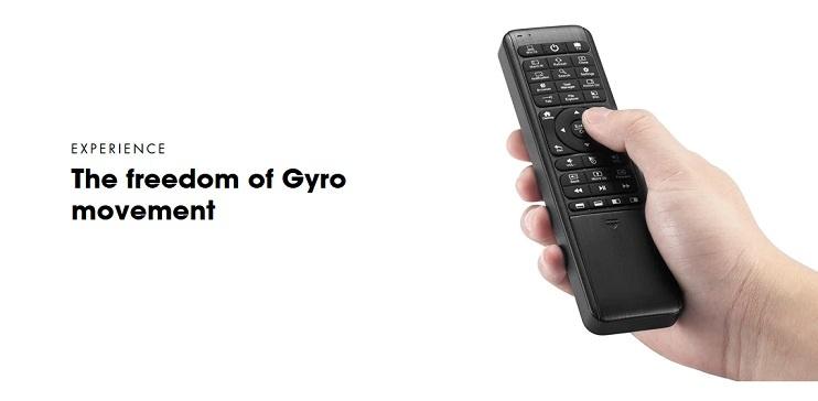 Le W10 GYRO est la première souris mondial gyro air à seulement 6-axes conçue pour le système Windows 10.
