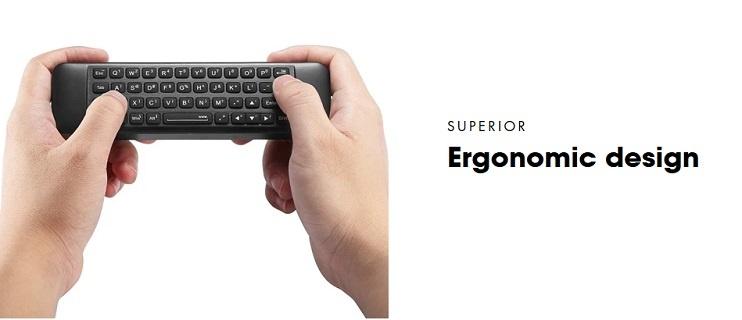 W10 GYRO è il primo e unico gyro air mouse a 6 assi al mondo creato specificamente per il sistema Windows 10.