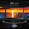 """PEPPER JOBS Monitor portatile XtendTouch XT1310F IPS da 13,6"""""""