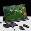 PEPPER JOBS XtendTouch XT1610F (V2) ist ein tragbarer Touchscreen-Monitor mit einem eingebauten 10800mAh-Akku.