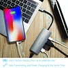 PEPPER JOBS TCH-5 is a USB-C 3.1 to USB 3.0 with Gigabit Ethernet, USB-C charging port and HDMI output multiport hub. Space Grey
