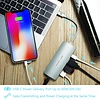 PEPPER JOBS TCH-5 è un hub multiporta da USB-C 3.1 a USB 3.0 con Gigabit Ethernet, porta di ricarica USB-C e uscita HDMI. Color argento