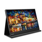 PEPPER JOBS XtendViz XV1610F è un monitor portatile USB-C IPS da 15,6 pollici