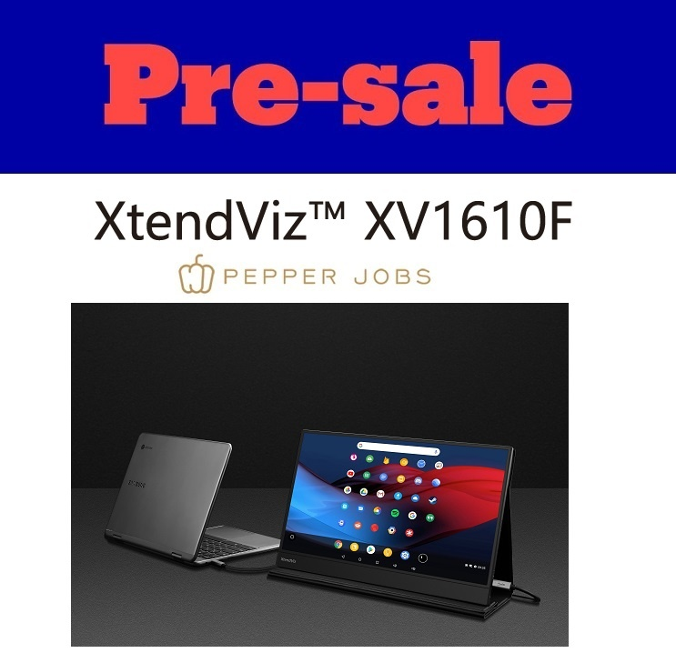 NEW portable monitor XtendViz XV1610F