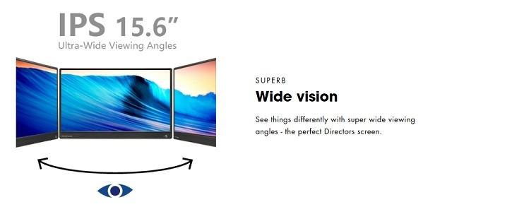 PEPPER JOBS XtendViz XV1610F portable monitor