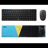 Rapoo Rapoo 9300M - Drahtlose Tastatur und Maus - RF + Bluetooth