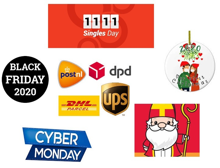 Delivery times during the holidays 2020
