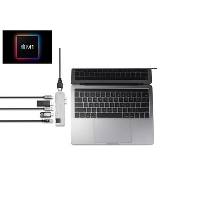 PEPPER JOBS TCH-MBP7 PLUS USB-C hub für MacBook Pro