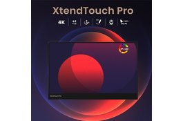 Video MacOS Big Sur stylus en touch ondersteuning demo XtendTouch Pro AMOLED draagbare monitor