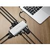 PEPPER JOBS TCH-12 is een 12-in-1 multipoort USB-C hub/adapter.